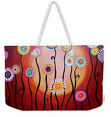 Flower Fest Weekender Tote Bag