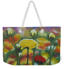 Flower Focus Weekender Tote Bag