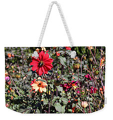 Flower Garden Weekender Tote Bag by Jason Nicholas