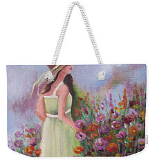 Flower Garden Weekender Tote Bag by Vesna Martinjak