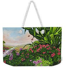 Flower Garden Vii Weekender Tote Bag
