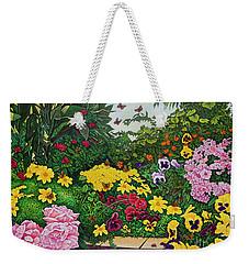 Flower Garden Xii Weekender Tote Bag