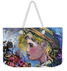 flower girl Manet Weekender Tote Bag