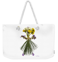 Flower Head Weekender Tote Bag
