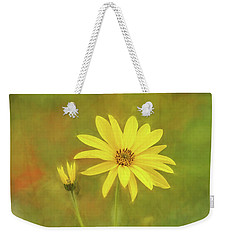 Flower Impression Weekender Tote Bag