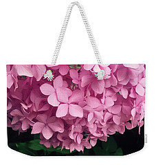 Flower In Color Weekender Tote Bag