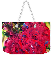 Flower In The Garden Weekender Tote Bag