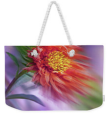 Flower In The Wind Weekender Tote Bag
