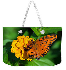 Flower Joy Weekender Tote Bag by Kenneth Albin