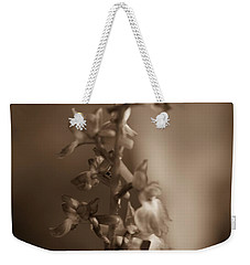 Weekender Tote Bag featuring the photograph Flower by Keith Elliott
