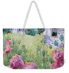 Flower Lady's Poppies Weekender Tote Bag