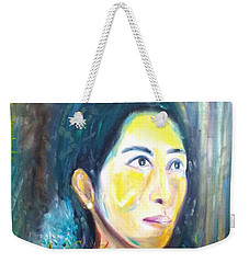 Flower Of Sun Weekender Tote Bag