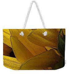 Flower Of The Sun Weekender Tote Bag by I'ina Van Lawick