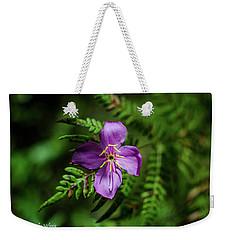 Flower On The Fern Weekender Tote Bag by Stefanie Silva