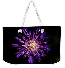 Flower Or Firework Weekender Tote Bag by Stefanie Silva