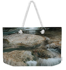 Weekender Tote Bag featuring the photograph Flower Park by Iris Greenwell