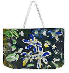 Flower Play Weekender Tote Bag