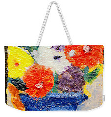Flower Pot Weekender Tote Bag