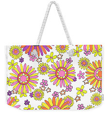 Flower Power 1 Weekender Tote Bag
