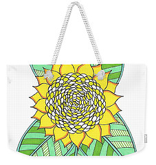 Flower Power 6 Weekender Tote Bag