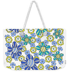 Flower Power 7 Weekender Tote Bag