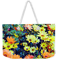 Weekender Tote Bag featuring the photograph Flower Power by Glenn McCarthy Art and Photography