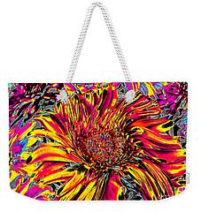 Flower Power II Weekender Tote Bag