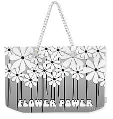 Flower Power - White  Weekender Tote Bag