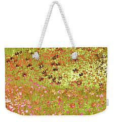 Flower Praise Weekender Tote Bag by Linde Townsend