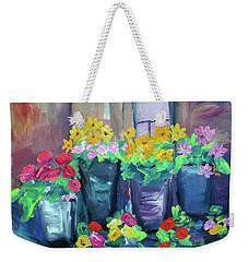 Flower Shop Weekender Tote Bag