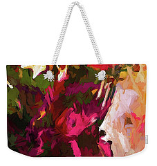 Flower Splash Weekender Tote Bag