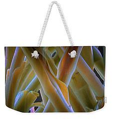 Flower Stems Weekender Tote Bag