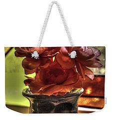 Flower Vase Weekender Tote Bag