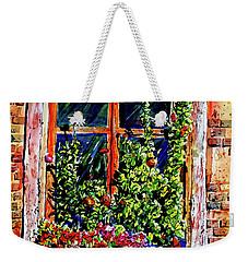 Flower Window Weekender Tote Bag