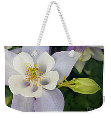 Flower With Bud Weekender Tote Bag