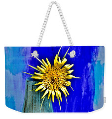 Flower With Spikes Weekender Tote Bag