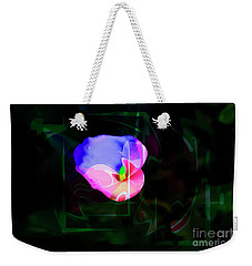 Weekender Tote Bag featuring the photograph Flower Wower by Al Bourassa