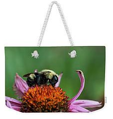 Flowerbee Weekender Tote Bag by Nikki McInnes