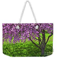 Flowering Crabapple Weekender Tote Bag
