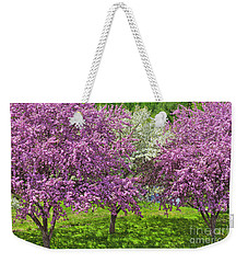 Flowering Crabapples Weekender Tote Bag