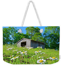 Flowering Hillside Meadow Weekender Tote Bag