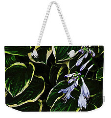 Flowering Hosta Weekender Tote Bag
