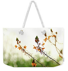 Flowering In Israel At The Sunset Weekender Tote Bag by Yoel Koskas