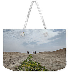 Flowering In The Desert Weekender Tote Bag by Yoel Koskas