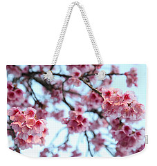 flowering of the almond tree, Jerusalem Weekender Tote Bag by Yoel Koskas