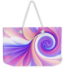 Flowering Pastel Weekender Tote Bag