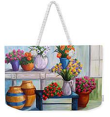 Flowerpots Weekender Tote Bag