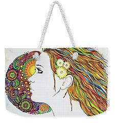 Flowerpower2 Weekender Tote Bag