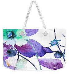 Flowers 01 Weekender Tote Bag
