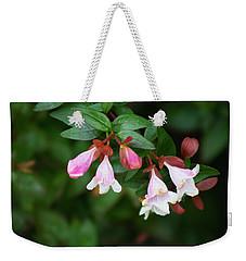 Flowers 1 Weekender Tote Bag by Ayasha Loya